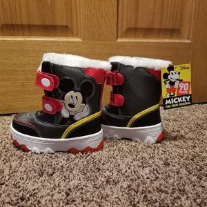 Disney Mickey Mouse light Up boots